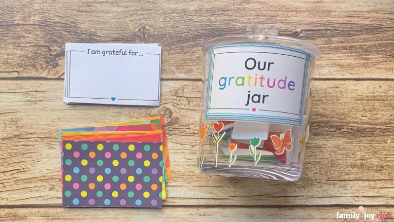 family gratitude activities gratitude jar